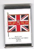 OXFORDSHIRE LIGHT INFANTRY COLOUR 1868 FRIDGE MAGNET L1